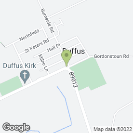 Map of The Duffus Inn in Duffus, Elgin, morayshire