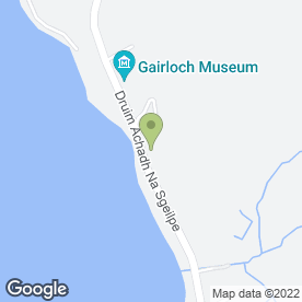 Map of The Toybox Children's Centre in Gairloch, ross-shire