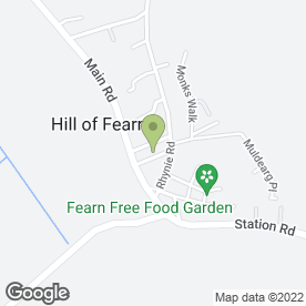 Map of Hill of Fearn Primary School in Fearn, Tain, ross-shire