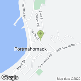 Map of Scottish Boot Camp in Portmahomack, Tain, ross-shire
