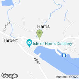Map of Bank of Scotland in Tarbert, Isle Of Harris, isle of harris