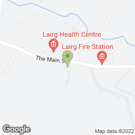 Map of The Lairg Highland Hotel in Lairg, sutherland