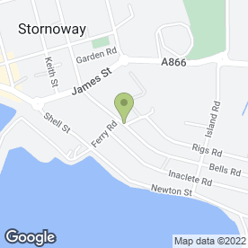 Map of Apollo Blinds in Stornoway, isle of lewis