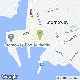 Map of Stornoway Balti House in Stornoway, isle of lewis