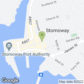 Map of Superdrug Stores plc in Stornoway, isle of lewis