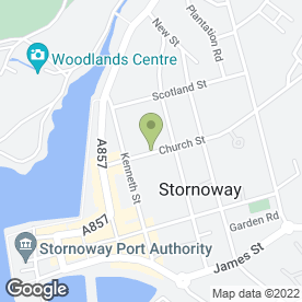 Map of Peking Cuisine in Stornoway, isle of lewis