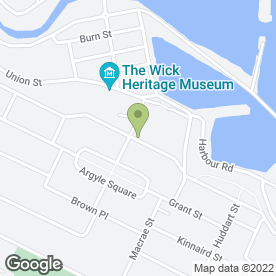 Map of Wendy's in Wick, caithness