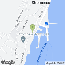 Map of Stromness Hotel in Stromness, orkney isles
