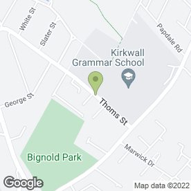 Map of Bed & Breakfast in Kirkwall, orkney isles