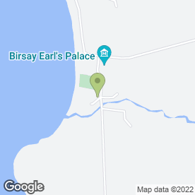 Map of Palace Enterprise in Birsay, Orkney, orkney isles