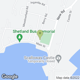Map of The Shearing Shed in Scalloway, Shetland, shetland islands