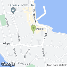 Map of Jon Stone Hair in Shetland, shetland islands
