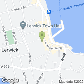 Map of Health & Beauty Clinic in Shetland, shetland islands