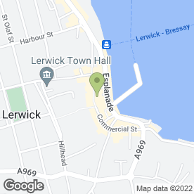 Map of Jax Hair Studio in Lerwick, Shetland, shetland islands