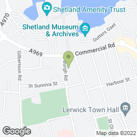 Map of G B Design Services in Shetland, shetland islands