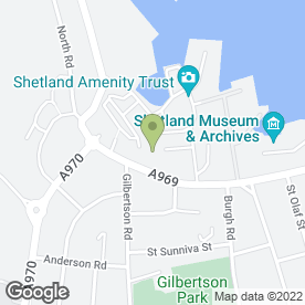 Map of Sleeping Beauty Salon Ltd in Shetland, shetland islands