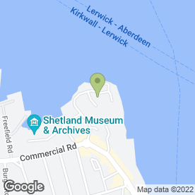Map of David Adamson & Partners in Shetland, shetland islands
