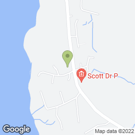 Map of Brae Health Centre Dental Surgery in Brae, Shetland, shetland islands