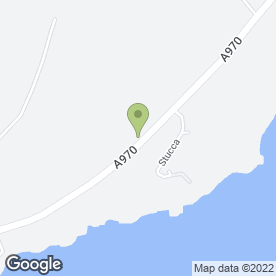 Map of St. Magnus Bay Hotel Ltd in Hillswick, Shetland, shetland islands