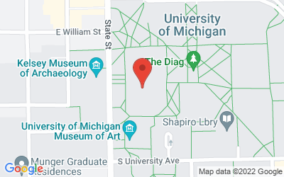 Map of 1014 Tisch, 435 S. State St.