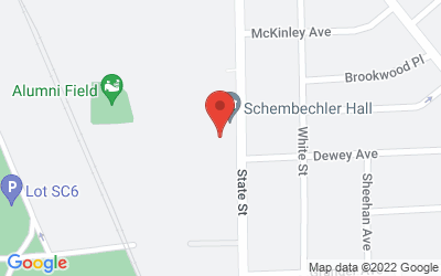 Map of 1200 South State, Ann Arbor, MI 48109-2203