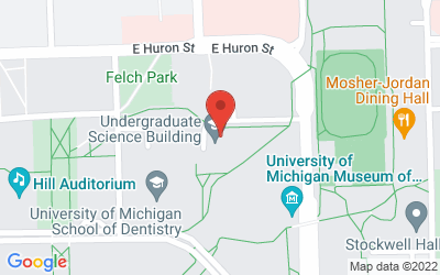 Map of 204 Washtenaw Ave., Ann Arbor, MI 48109-2215