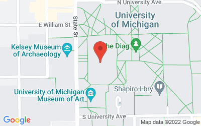 Map of 3222 Angell Hall