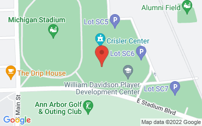 Map of 333 E. Stadium Blvd., Ann Arbor, MI 48109