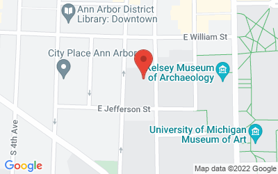 Map of 426 Thompson, Ann Arbor, MI 48109-1248