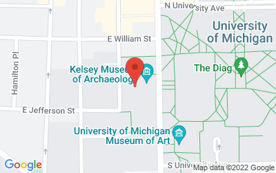Map of 434 S. State Street, Ann Arbor, MI 48109-1390