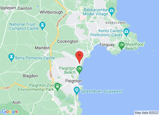 Eden Vauxhall Torbay's location