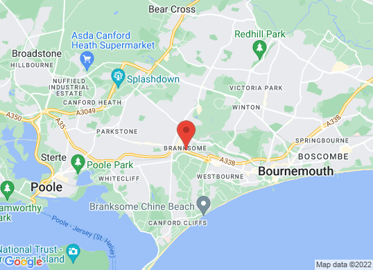 Eden Vauxhall Branksome's location