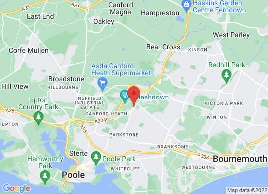 Bournemouth and Poole Car Sales's location