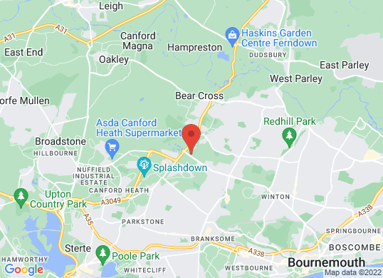 Westover Nissan (Bournemouth)'s location