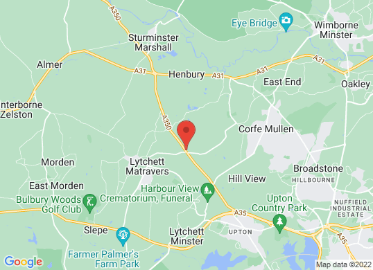Lytchett Motors's location