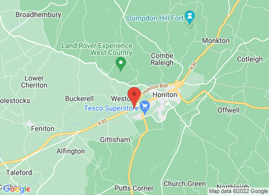 Eden Vauxhall Honiton's location