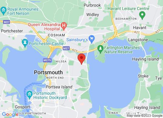 Unbeatablecar Portsmouth's location