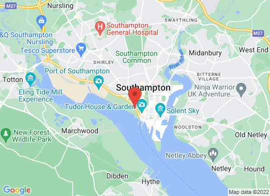 Hendy Honda Southampton   's location