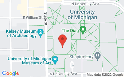 Map of 505 S. State St., Ann Arbor, MI 48109-1045