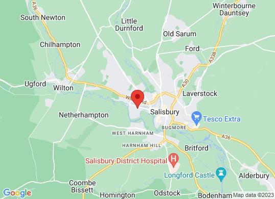 Penton SalisburyVauxhall & Citroen's location