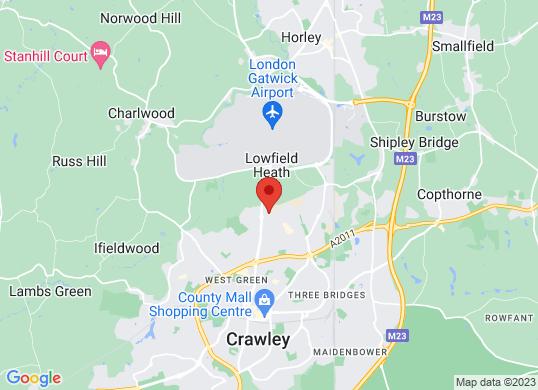 Unbeatablecar Crawley's location