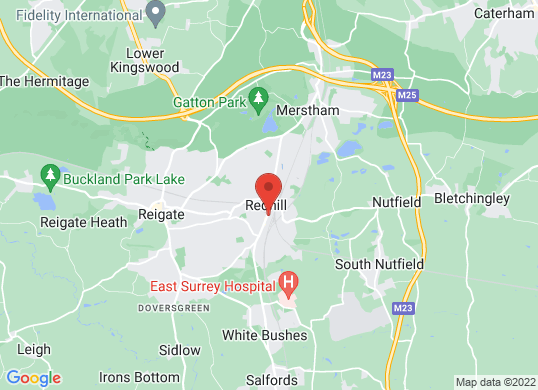 Hendy Ford Redhill 's location