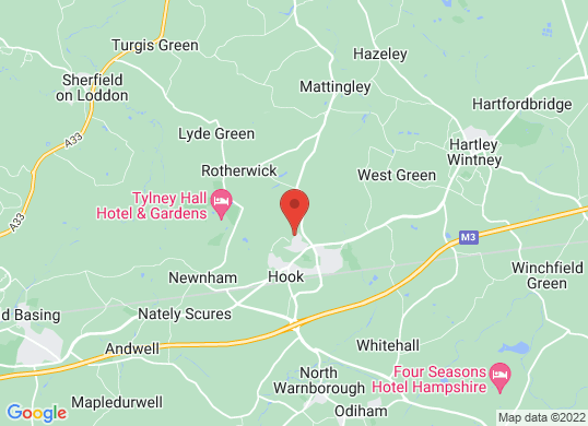 Marshall BMW Hampshire's location