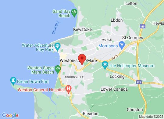 Weston Car Centre's location