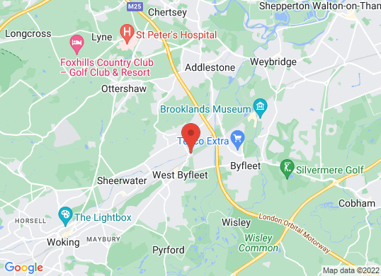 Weybridge Vehicle Consultants's location