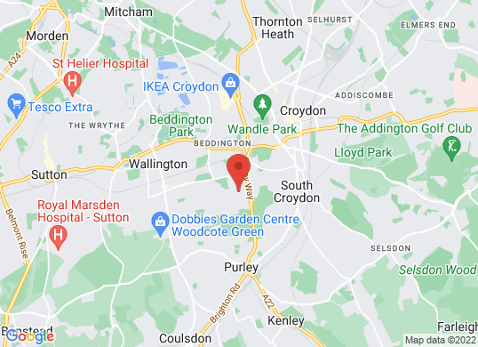 Dees Croydon (Ford)'s location