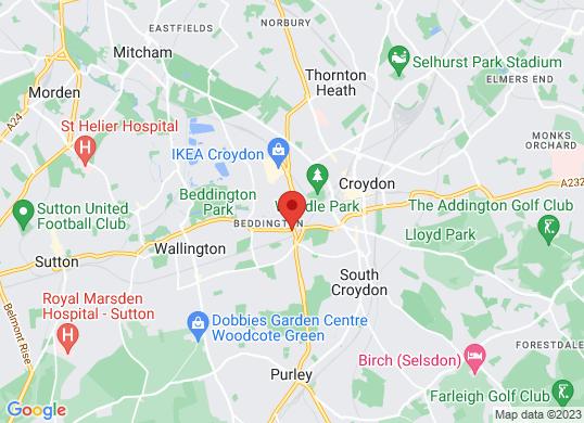 Marshall Skoda Croydon's location