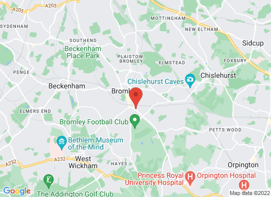 Bristol Street Bromley Ford's location