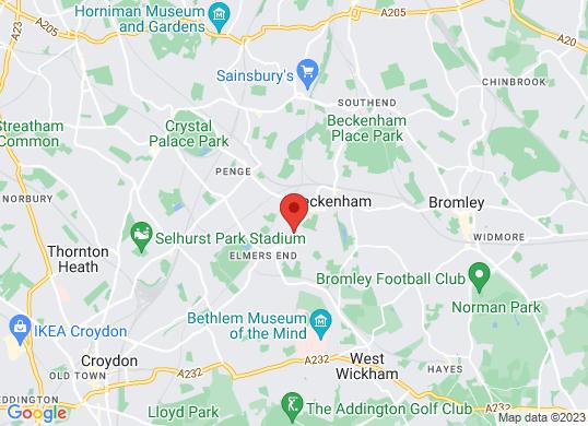 Marshall Beckenham Audi's location