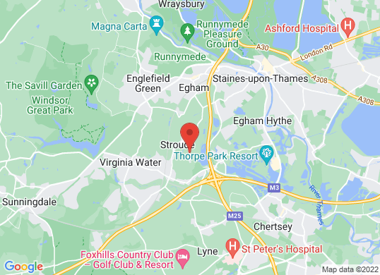 Middlesex and Surrey Commercials's location